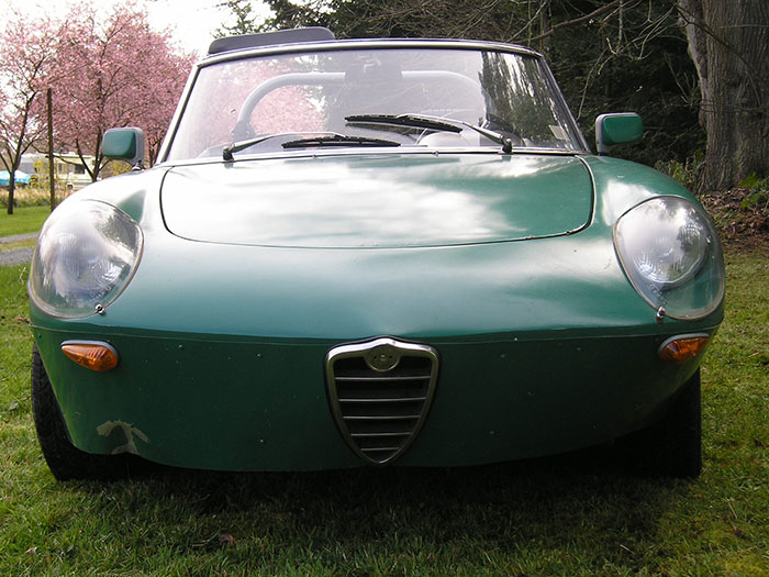 Barn Find Alfa Romeo Spider - Alfa romeo spider hardtop for sale